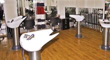 Salon Wallmeier Hair Innenansicht Waschtische