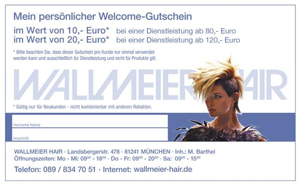 Welcome-Gutschein